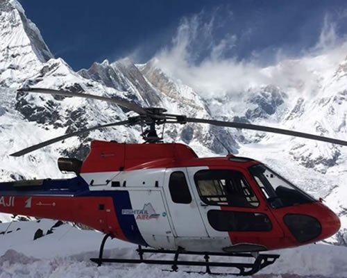 Helicopter tours annapurna