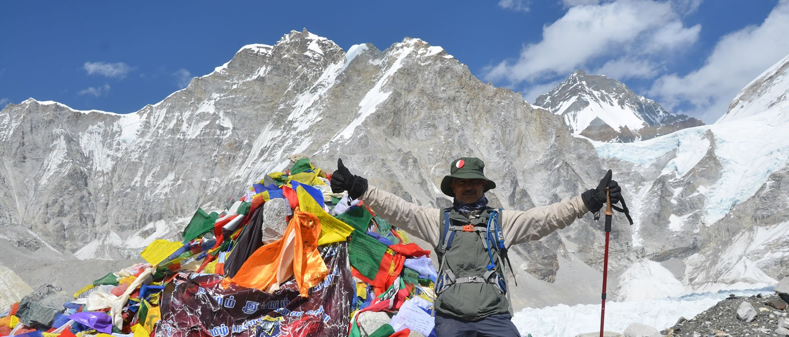 trekking to the Everest Base Camp