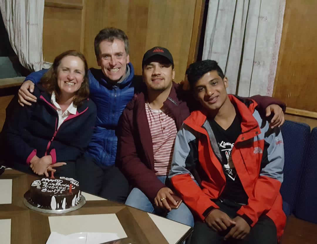 Birtday at Ghandruk