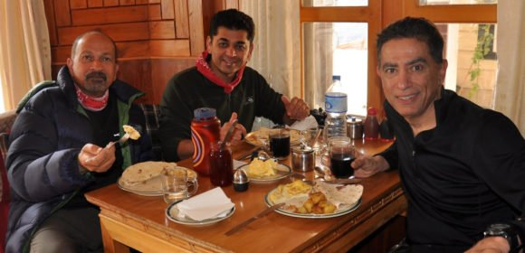 Food during the Everest Base Camp Trek