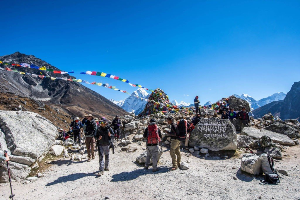 Everest Base Camp Trek with Chola Pass Trek