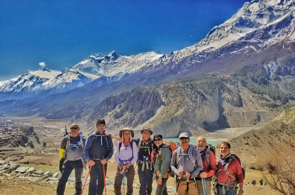 Best time to visit nepal for trekking, Annapurna circuit