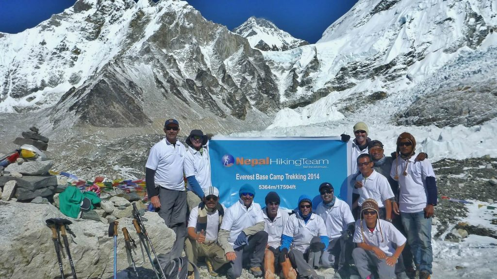 Everest Base Camp, the best time to visit nepal for trekking