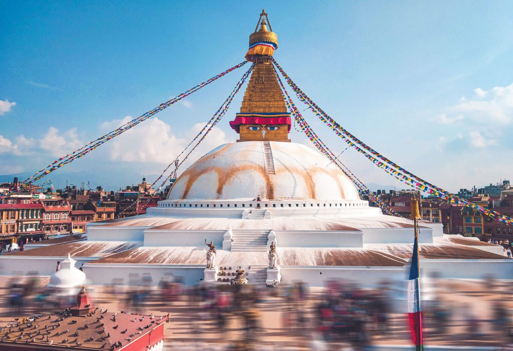 Boudhanath Stupa, one of the best photo spots in Nepal